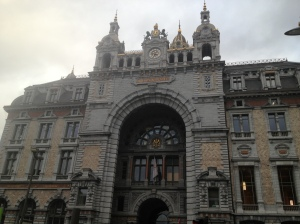 The Antwerp Central Station