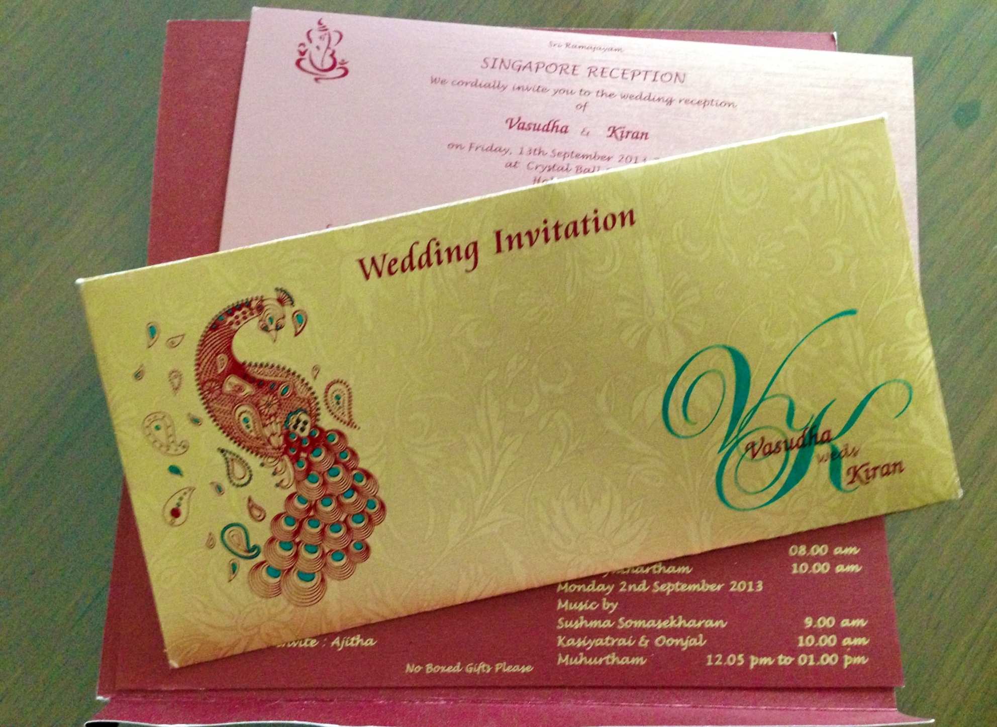 No Gifts Wedding: The Case Of The Mystery Wedding Invite