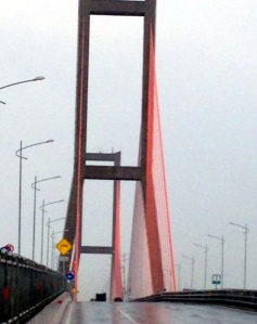 The cable bridge- Suramadu