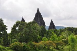 Prambanan - The 9th Century Hindu temple dedicated to the Trimurti At Jogjakarta