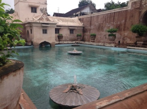 Taman Sari - The Water castle of the Jogja Sultans.